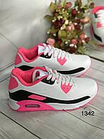 Жіночі класичні кросівки білі, фото 1