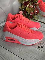 Жіночі класичні кросівки оранжеві, фото 1