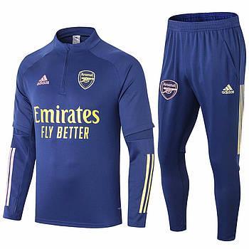 Тренировочный костюм Арсенал Adidas 2020/21 blue