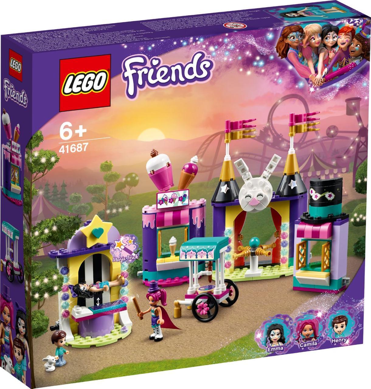 Lego Friends Кіоск на чарівній ярмарку 41687