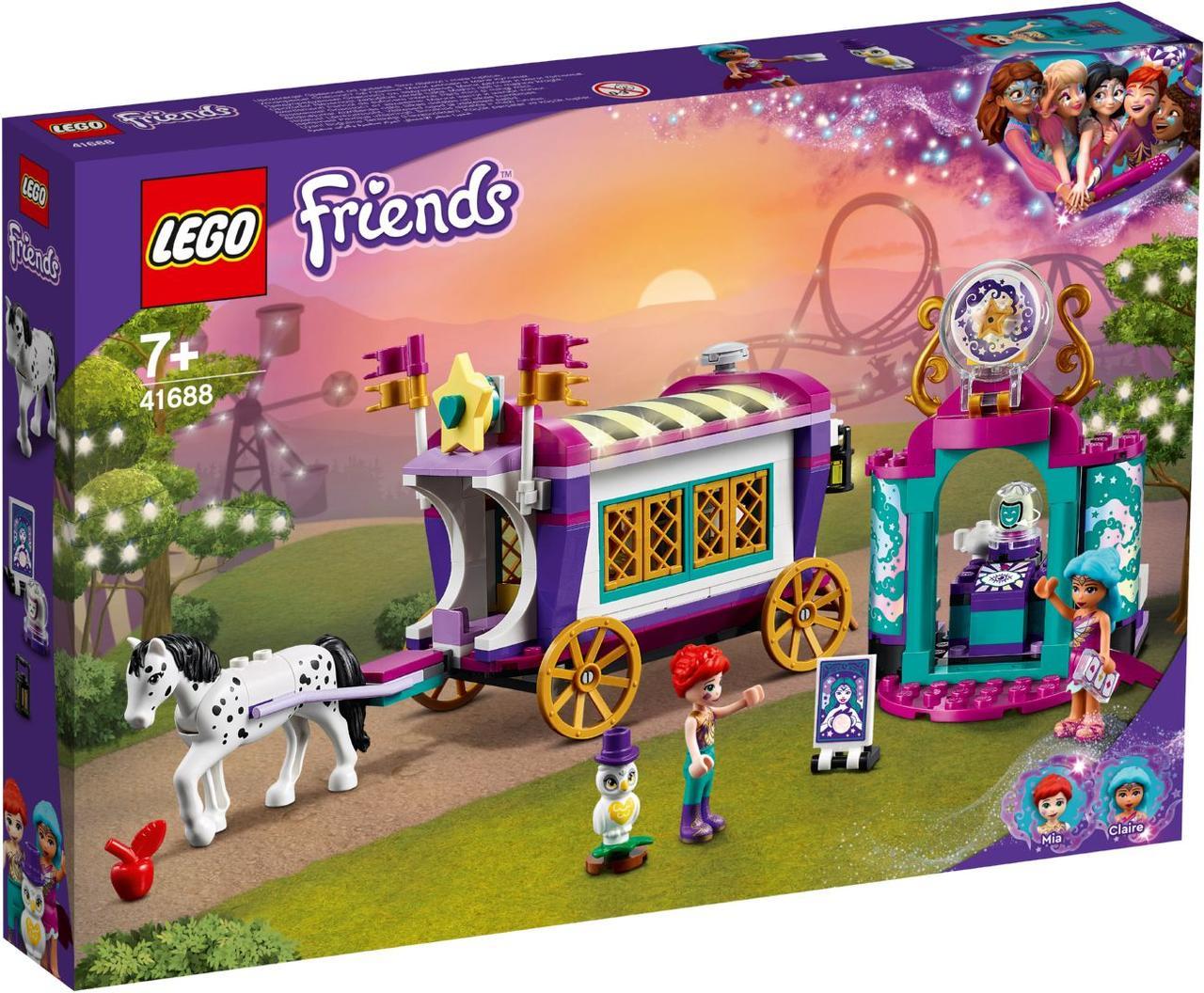 Lego Friends Чарівний фургон 41688