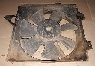 Мотор електродвигун вентилятор охолодження радіатора + дифузор Таврія Славута ЗАЗ 1102 1103