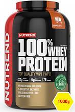 Сывороточный протеин Nutrend 100% WHEY PROTEIN 1000g карамельный латте