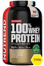 Сывороточный протеин Nutrend 100% WHEY PROTEIN 2250g белый шоколад+кокос