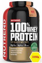 Сывороточный протеин Nutrend 100% WHEY PROTEIN 2250g холодный кофе