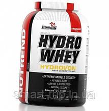 Гидролизат изолята сывороточного протеина Nutrend Hydro Whey 1600 g клубника