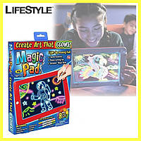 Световой планшет для рисования, планшет с функцией рисования, светодиодный планшет для рисования MAGIC