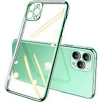 """Прозрачный силиконовый чехол с глянцевой окантовкой Full Camera для Apple iPhone 12 Pro (6.1"""")"""