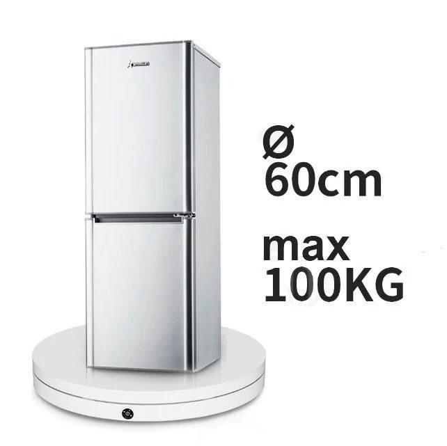 Ø 60см/max-100кг Поворотний 3d стіл з ПДУ для предметної зйомки FTR-RC6008 1198