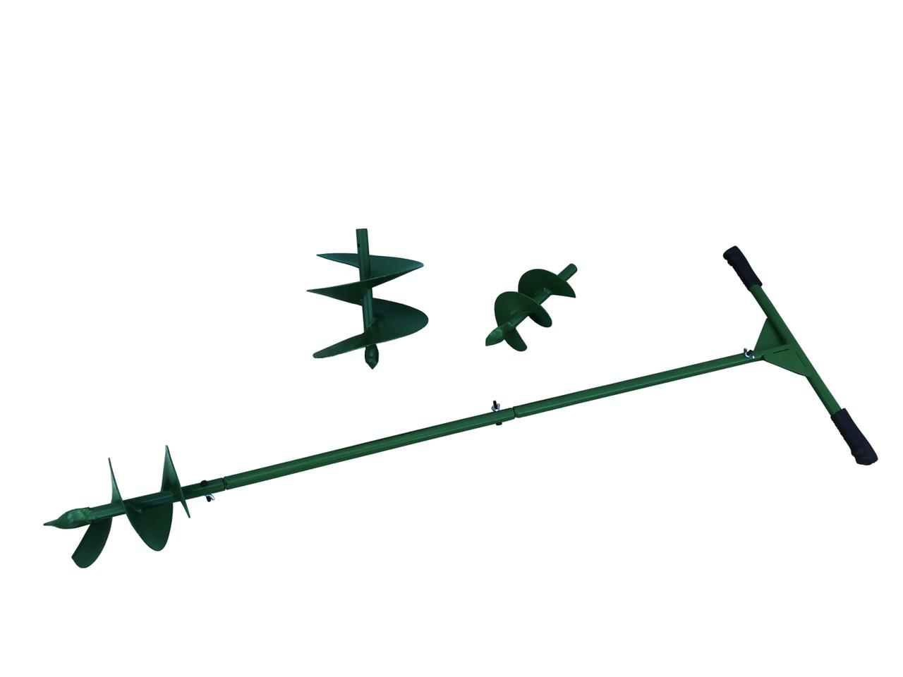 Бур шнековый Крот 3 насадки (120/170/220 мм)