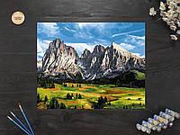 """Картина по номерам """"Горный пейзаж"""" 40х50 см"""