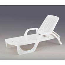 Лежак пляжный пластиковый пластмассовый ZANZIBAR