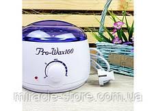 Воскоплав баночний з терморегулятором PRO-WAX 100 для воску, фото 2