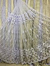 Красивая гардина с кордовой люрексовой нитью №116203
