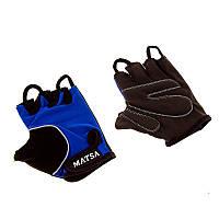 Перчатки вело, фитнес Matsa (р.XXL)
