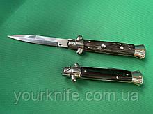 Купить Нож Итальянский автоматический стилет Frank Beltrame Classic 2.0 23см рог буйвола bayonet