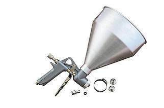 Пневмопістолет для нанесення цементу Miol - 5000 мл d=4, 5, 6, 8 мм (81-562), (Оригінал)