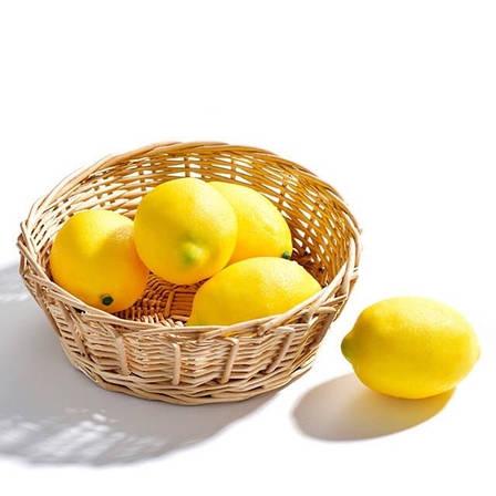 Искусственный лимон,муляж лимона.Лимон для декора., фото 2
