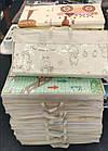 ОПТ Детский развивающий термоковрик складной двухсторонний 150×180см, коврик складной для ползания, фото 8
