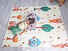 ОПТ Детский развивающий термоковрик складной двухсторонний 150×180см, коврик складной для ползания, фото 5