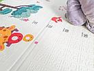 ОПТ Детский развивающий термоковрик складной двухсторонний 150×180см, коврик складной для ползания, фото 7