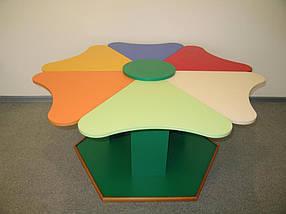 Комплект детских игровых столов Ромашка. W6