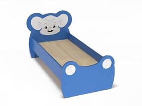 Кровать детская ЛДСП Мышонок с рисунком. W45