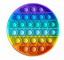 Іграшка антистрес Pop It нескінченна пупырка Веселкове коло (hub_c760m4)