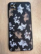 Чехол для Samsung A12 Dog Black