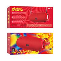 Беспроводная Bluetooth колонка Borofone BR12 |AUX, FM-radio, SD-card, Bluetooth| Красный