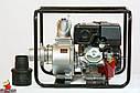 Мотопомпа бензинова WEIMA WMQGZ100-30 (96 КУБ.М/ГОДИНУ, 16 Л. С.), фото 4