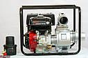 Мотопомпа бензинова WEIMA WMQGZ100-30 (96 КУБ.М/ГОДИНУ, 16 Л. С.), фото 3