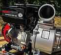 Мотопомпа бензинова WEIMA WMQGZ100-30 (96 КУБ.М/ГОДИНУ, 16 Л. С.), фото 7