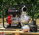 Мотопомпа бензинова WEIMA WMQGZ100-30 (96 КУБ.М/ГОДИНУ, 16 Л. С.), фото 8
