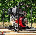 Мотопомпа бензинова WEIMA WMQGZ100-30 (96 КУБ.М/ГОДИНУ, 16 Л. С.), фото 9