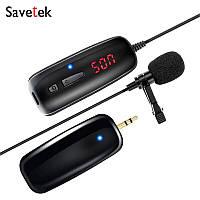 Бездротовий петличний мікрофон Savetek P7-UHF для телефону   смартфона, до 50 метрів