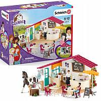 Schleich 42519 игровой набор фигурок Hores Club Кафе для наездников