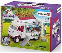 Schleich 42370 мобільна клініка для тварин
