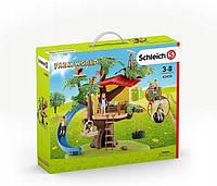 Schleich 42408 Игровой набор домик на дереве с горкой