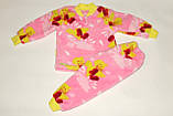 Пижама махровая на девочку 26 р утенок розовая., фото 2
