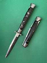 Нож Итальянский автоматический стилет Frank Beltrame Swinguard 2.0 28см рог буйвола bayonet
