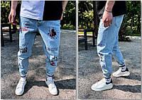 Модні чоловічі джинси, фото 1