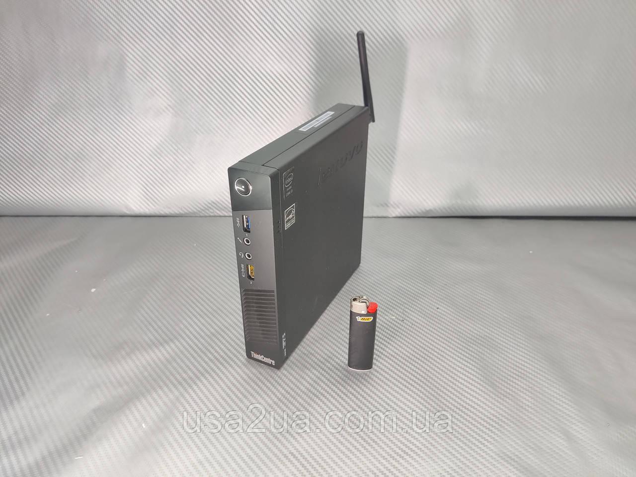 Компьютер системный блок Lenovo M73 Tiny Mini i3-4130T 3.1 ГГц 4 Гб 500 Гб 1.3 кг Wifi гарантия кредит