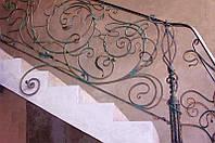 Кованые перила кованые лестницы