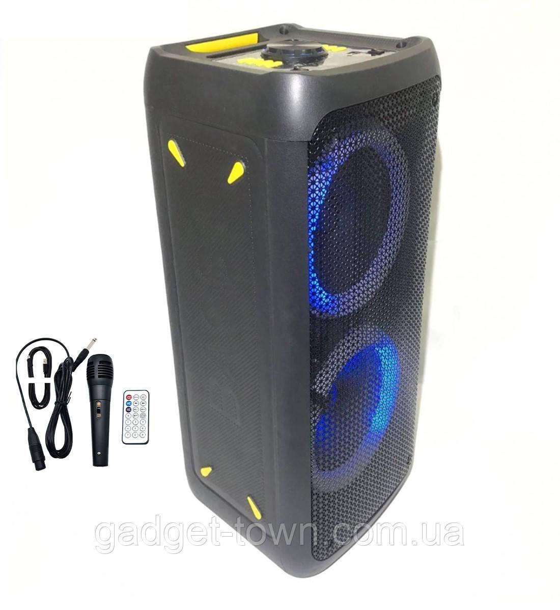 Колонка аккумуляторная DWQ partybox (80W/USB/BT/FM/TWS)