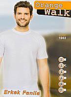 Мужская футболка хлопок 100% Orange Турция белая размер S - 44
