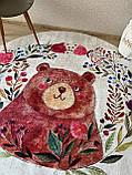 """Безкоштовна доставка! Круглий килим в дитячу """"Мішутка"""" діаметр 200 см, фото 4"""