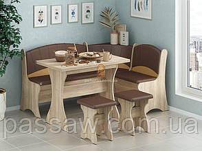 Кухонный уголок с раскладным столом Капитан