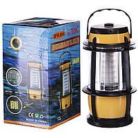 Ліхтар для кемпінгу Zelart світлодіодний пластиковий Жовтий-чорний (TY-7830)