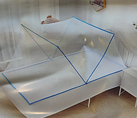 Балдахин антимоскитный Полог Сетка от комаров на кровать 190х100х82 SE2